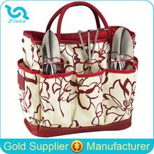 High Quality With Exterior Pocket 600D Polyeste Garden Tote Garden Tool Bag