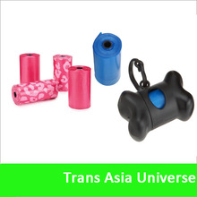 Hot Sell Custom Biodegradable Pet Waste Bags With Dispenser