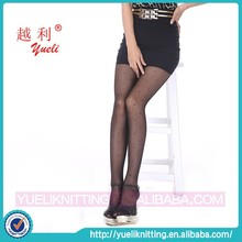 2015 Japanse fishnet woman sexy party pantyhose with dots
