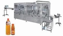 2015 hot sale new design glass/PET bottle juice filling machine