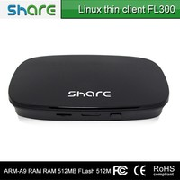 Linux OS network device thin client model FL300 support mic and speaker