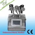 2014 superior de la venta mejor 5in1 cavitación ultrasónica rf adelgaza la máquina