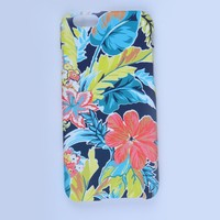 Water transfer printing case with UV coating for iphone 6S