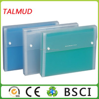 Factory sale durable file folder with flap