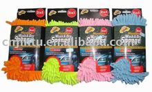 Cleaning tool chenille sponge