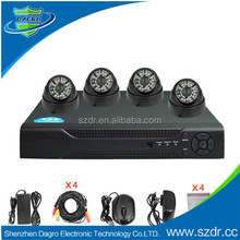 2015 new easy to install night vision cctv security 4ch dvr kit