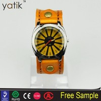 rome china wholesale leather band hand watch for girl unique products to sell local market