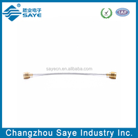 RF jumper cable with connector sma male to sma male rg405 cable