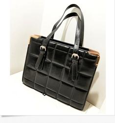 Design Womens Blue Tote Handbag Shoulder Business Briefcase Laptop Bag HOT ITEM