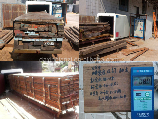 2015 new technology full automatic PLC Control wood drying system