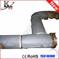 customized waterproof color foam pipe insulation
