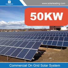 50000w sun solar system include power solar panel also with pure sine wave inverter
