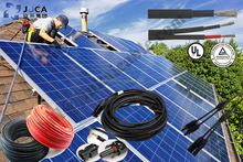 Jiukai TUV UV resistant XLPE solar power cable 1*6.0mm2 of Factory price - - CD