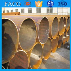 ERW Pipes and Tubes !! steel sheet pile black welded steel pipe for sale