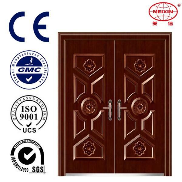 New double door latest design wooden door interior view for New double door