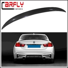 Auto body kits for BMW 4 series F32 carbon fiber rear spoiler 2014up