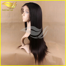 China factory Christmas promotion cheap price 5a grade virgin brazilian hair african american full lace wigs