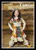 yawoo baby clothes 2015 alphabet bib design children clothing manufacturers china lace ruffle girls boutique clothing sets