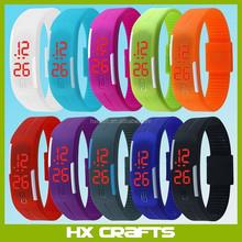 2015 New Sports Bracelet LED Watch Waterproof Unisex Sports Wrist Watch Led touch watch