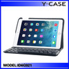 Stylish leather case with keyboard for iPad air 2 ,for iPad 6 leather case ,customized is acceptable