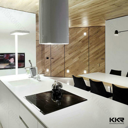 modified solid surface kitchen countertop