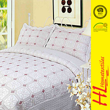 HLHT free sample available home choice bedclothes sateen imported bedspreads