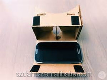 Newest DIY 3D Google Cardboard Glasses Virtual Reality 3D Glasses For iPhone + Android