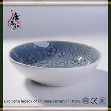 white ceramic soup bowls