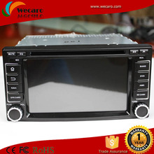 Wecaro android 4.4 gps car for subaru forester car dvd gps navigation system