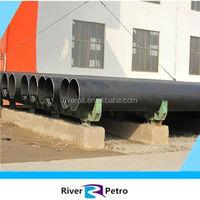 Hot sales API 5CT black paint oil exacting LASW pipeline best after-sales service