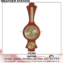 Wooden Weather Station Barometer Decor YG369