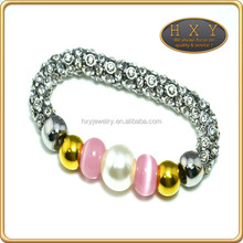 316l new design highly quality finger chain ring bracelet