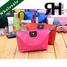 Manufacture Wholesale cheap Nylon Cosmetic Bag Women makeup bag