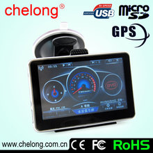 4.3 Inch portable GPS Navigation With Bluetooth GPS in the car