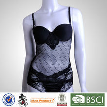 Best Design Sexy Slit Matching Thong Polyester Sexy Online Lingerie