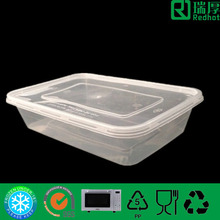 Wholesale Plastic Food Container/Lunch Box With SGS Certification 500ml