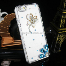 Deluxe Style Bling Diamond Crystal Case for IPhone 6, for iPHONE 6 Luxury Skin Case