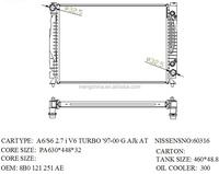 Top quality car radiator for AUDI Nissens NO 60316