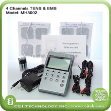 Hot selling 4 channels tens ems