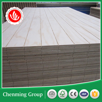 decorative pine groove plywood