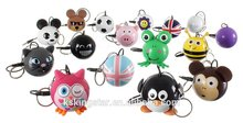 Lovely animal cartoon mini usb speaker