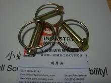 yellow zinc plated lock linch pins