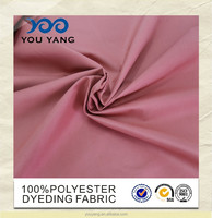 China Whole sale cheap 100%polyester pure color for home textile/bedsheet,bedding set