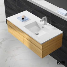 Acrylic solid surface laundry wash basin-S4602