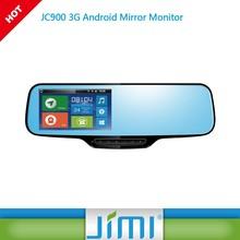 smart special car rear view camera for honda city JIMI new JC900 best car DVR rearview mirror DVR