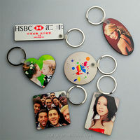 Sublimation Wooden Key chain