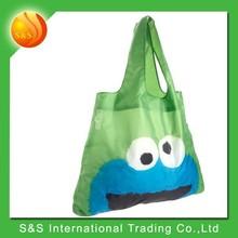 2015 cute printing large capacity portable reusable shopping bag
