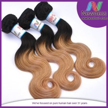 wholesale virgin body wave ombre color dropship wholesale brazilian hair extensions south africa supplier