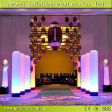 Customized Size special inflatable light pillar for Birthday Party