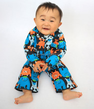 100% cotton flannel baby clothes